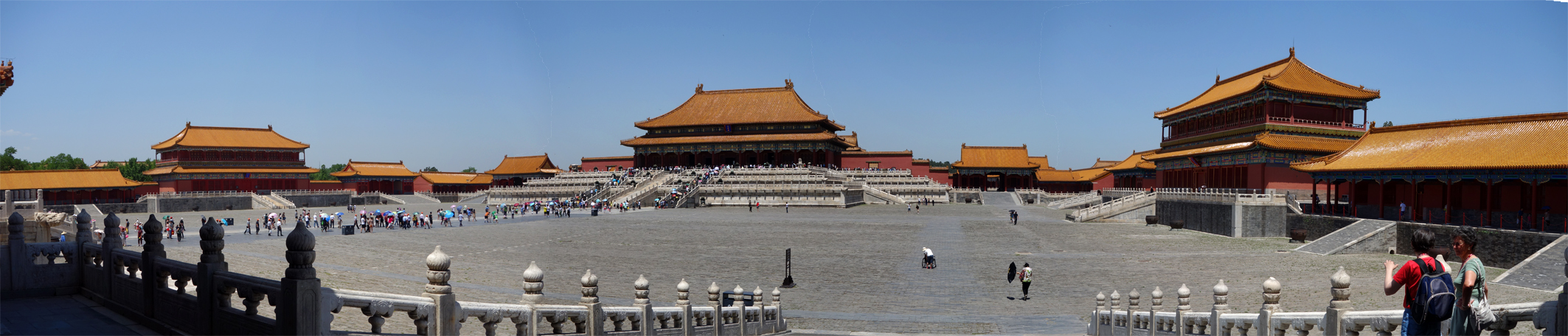 Beijing Forbidden City Inner courtyard