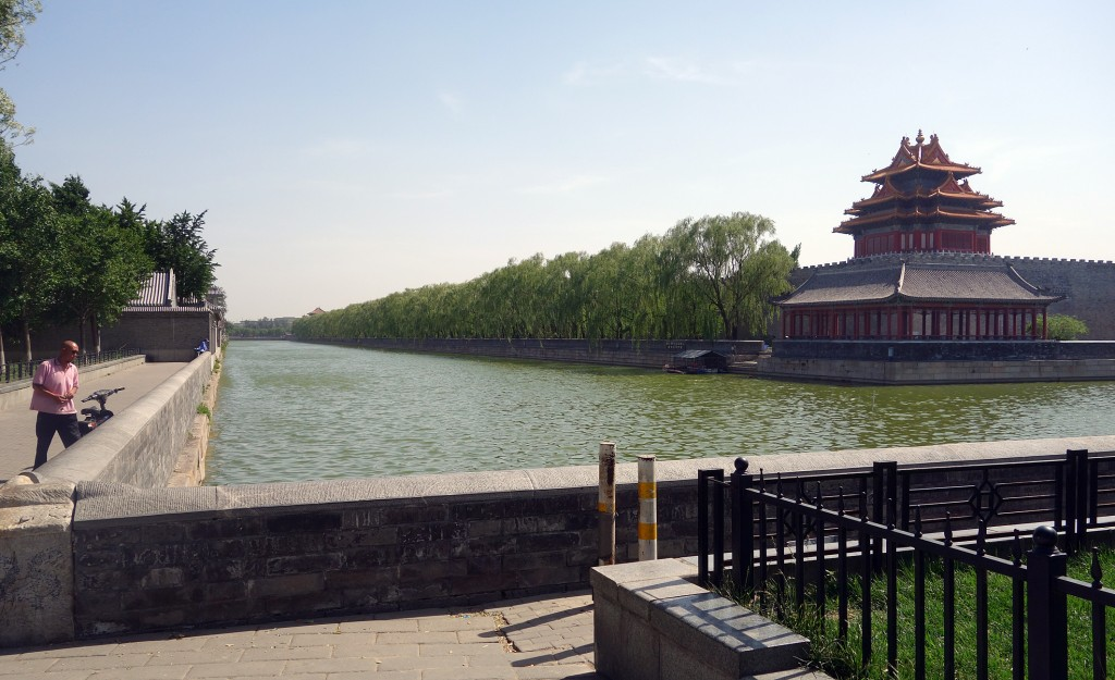Beijing Forbidden City: Moat