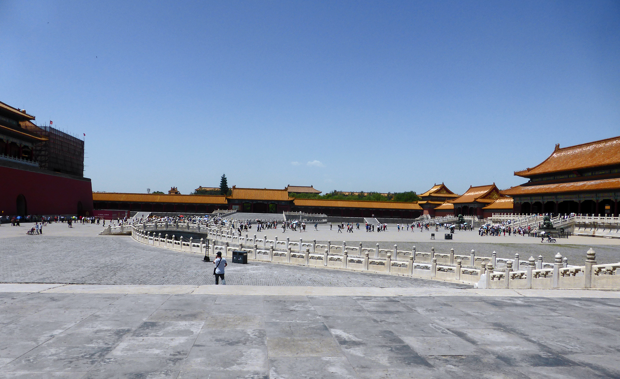 Beijing, Forbidden City, Outer courtyard