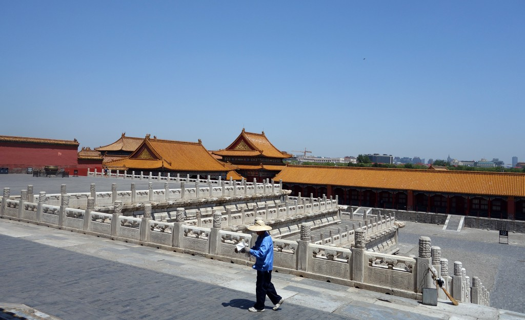 The Forbidden city: the central terrace structure