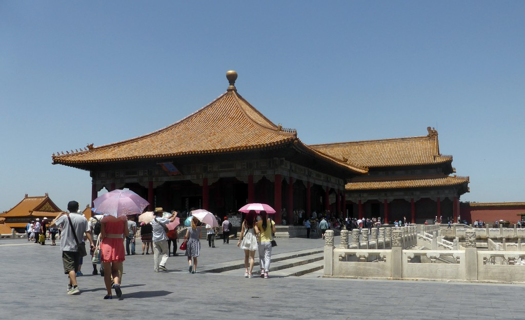 The forbidden City: the two subsidiary halls