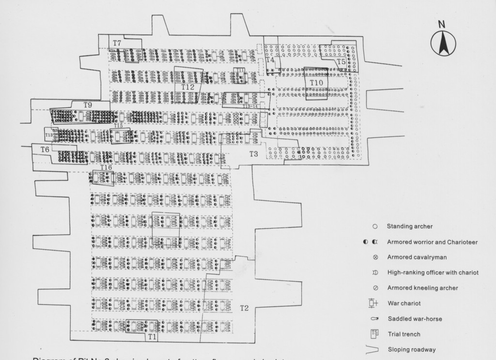 Terracotta army Pit 2, plan