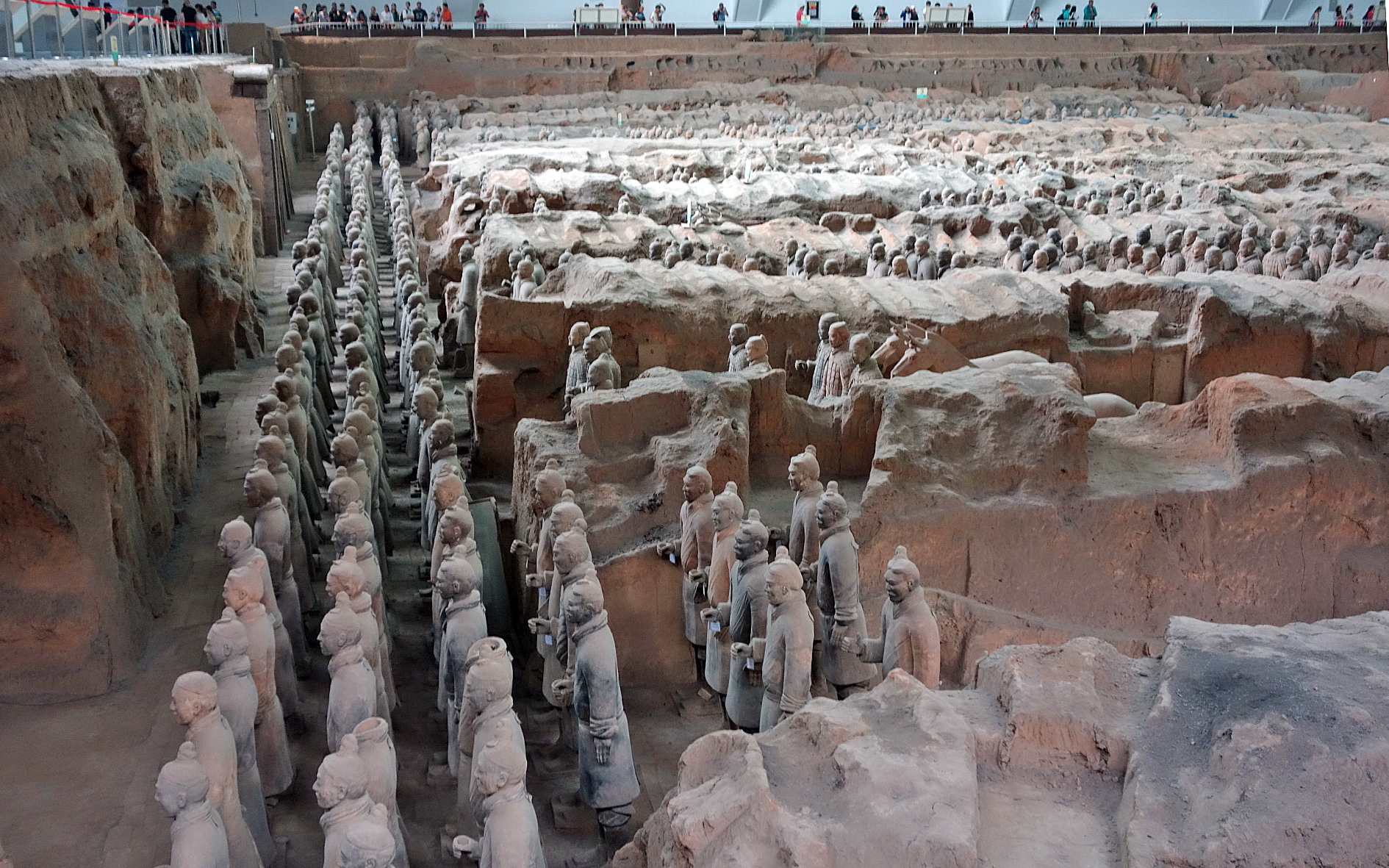 Terracotta army - the vanguard