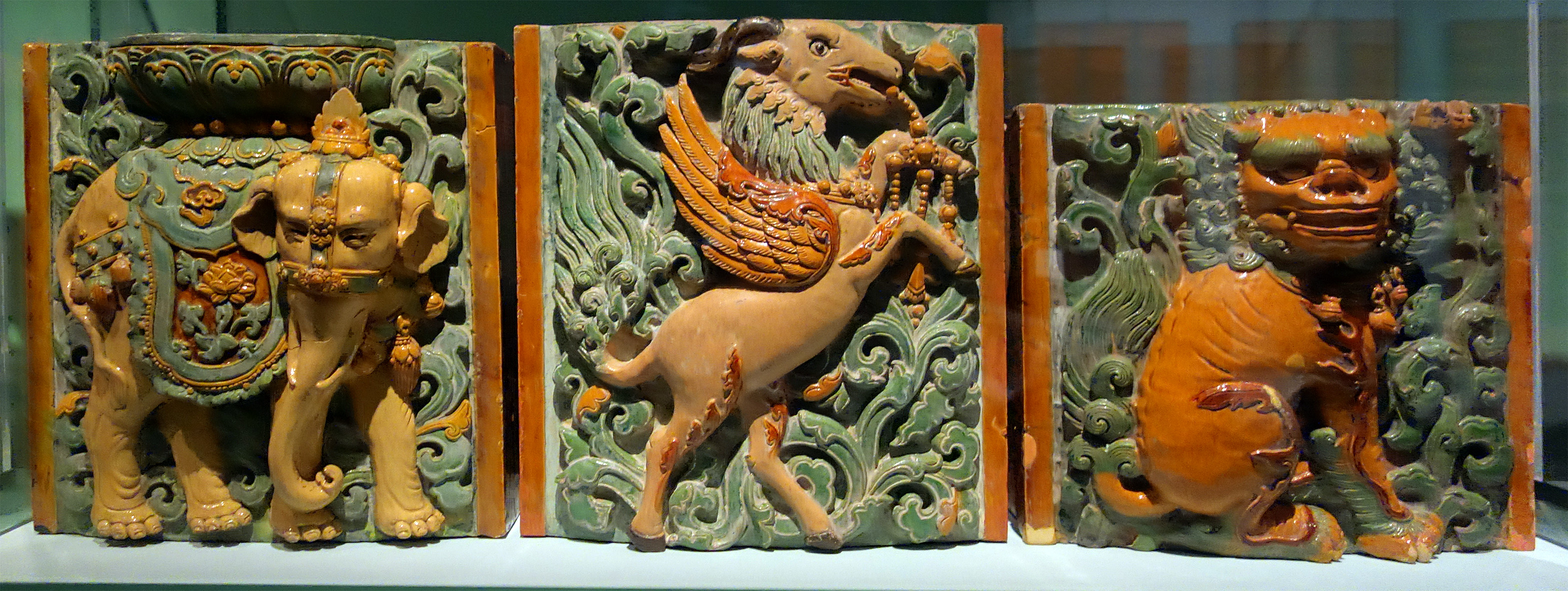 Tiles from Porcelain Pagoda