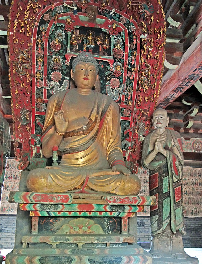 Buddha and roof 162