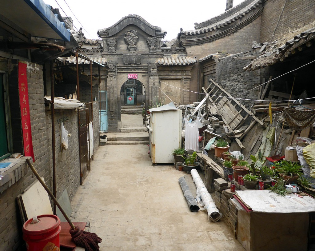 Pingyao coutyard house under restoration
