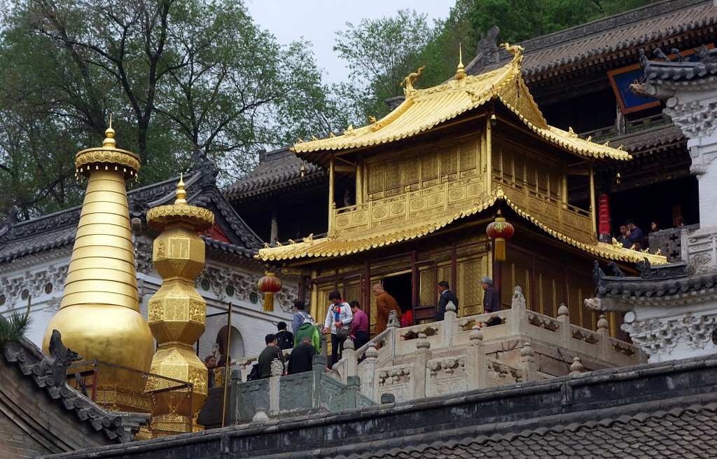 Wutaxiang, Xiantong temple, Bronze Pavillion