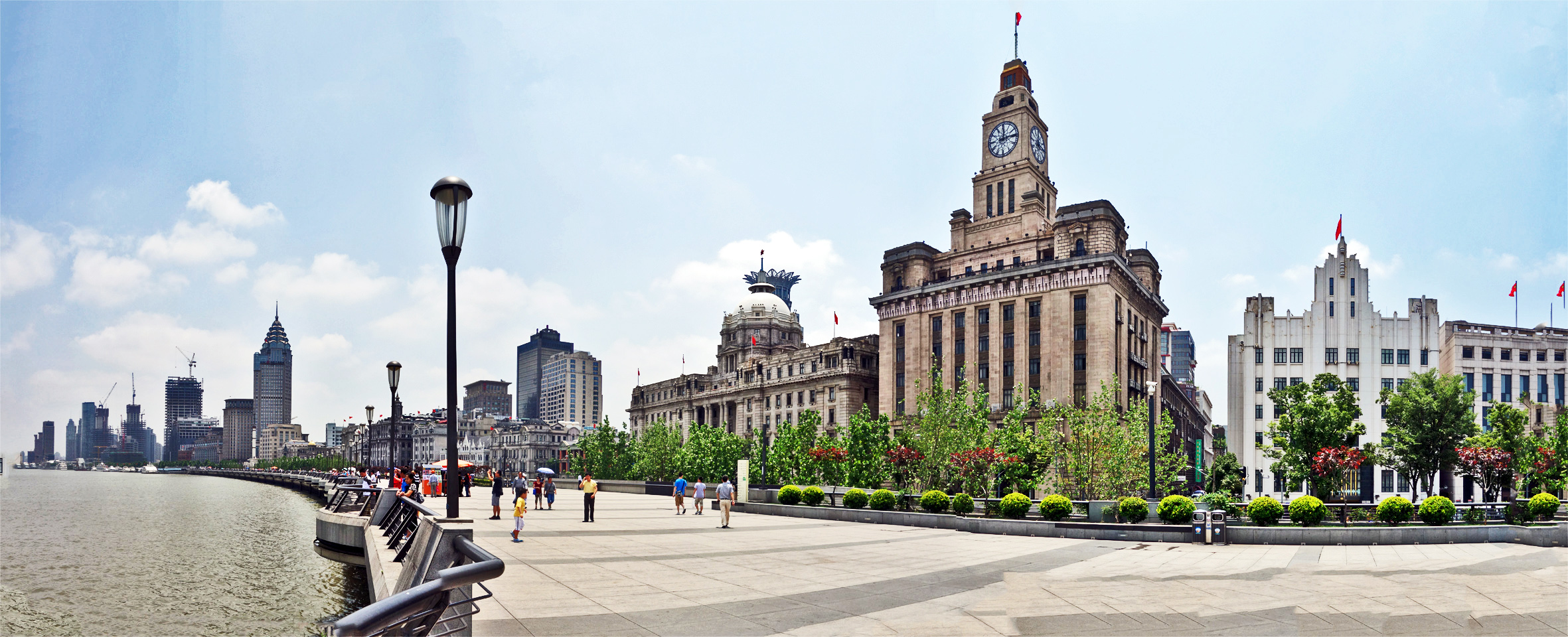 Shanghai: the Bund
